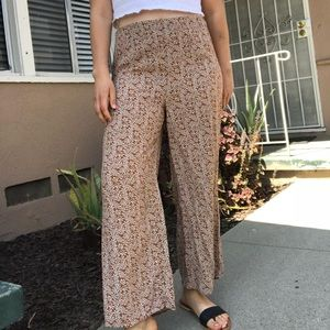 SOLD✨Vintage floral trousers
